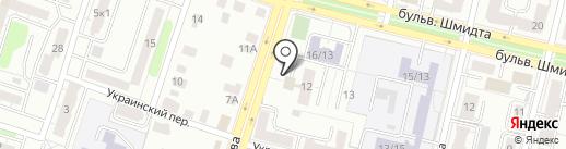 Тверской машиностроительный колледж на карте Твери