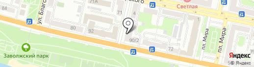 Cartel на карте Твери