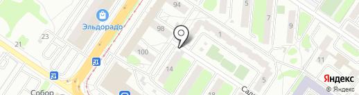 М-БТД на карте Твери