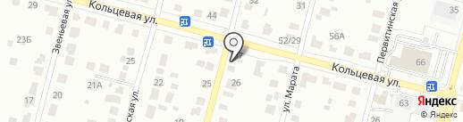 Шиномонтажная мастерская на карте Твери