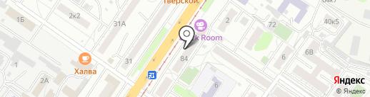 БЕЛЛЬЁРУ на карте Твери