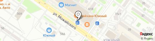 Киоск по продаже цветов на карте Твери