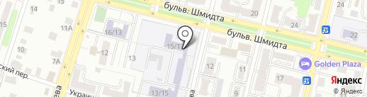 Центр развития творчества детей и молодежи Тверской области, ГБУ на карте Твери