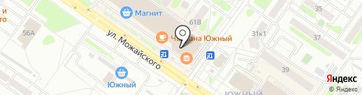Сияние на карте Твери