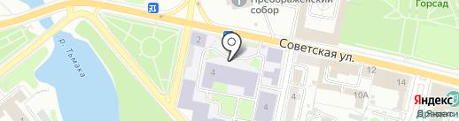 Тверской государственный медицинский университет на карте Твери