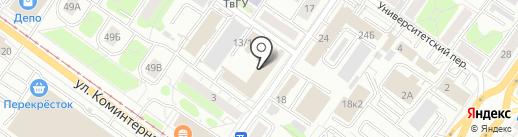 Центр Доктора Бубновского на карте Твери