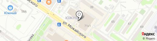 С.Л.О.Н. на карте Твери