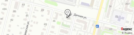 ДАЧНАЯ-57, ТСЖ на карте Твери