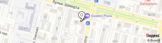 Мусоргского, 17, ТСЖ на карте Твери