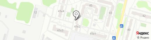 ДЕЯ, ТСЖ на карте Твери