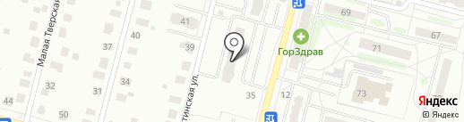 Таймень на карте Твери