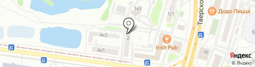 Правильные Суши на карте Твери