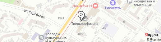 ПРАЙД на карте Твери