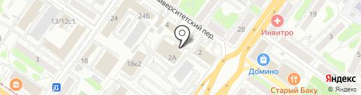 Рыжий нос на карте Твери