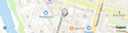 ХУКА на карте Твери