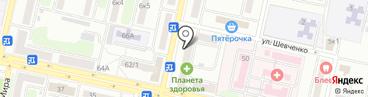 INSIDE на карте Твери