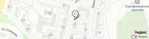 Голландская, 23, ТСЖ на карте Твери