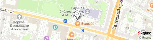 Flor2U.ru на карте Твери