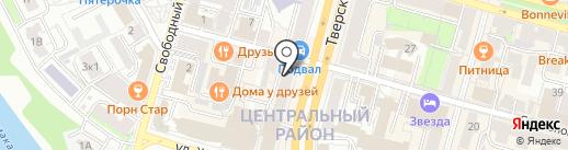 Банк Воронеж на карте Твери