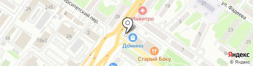 Банкомат, Мособлбанк, ПАО на карте Твери