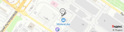 У Вокзала на карте Твери