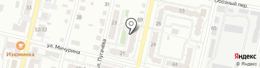 КОНОПЛЯННИКОВОЙ,21, ТСЖ на карте Твери