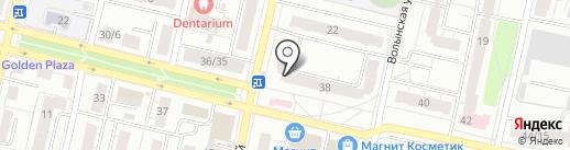 Рандеву на карте Твери