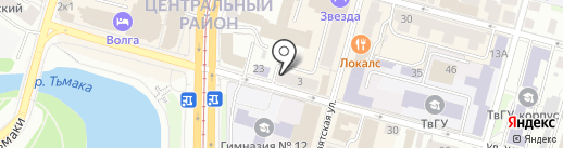 Альфа-банк на карте Твери