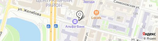 ПодаркиТверь.ру на карте Твери