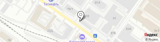 АВТОТАКСА на карте Твери