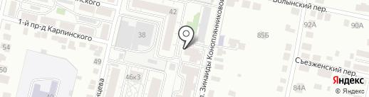 Загородный дом на карте Твери