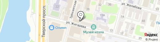 HIPSTR.RU на карте Твери