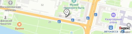 ЭРА на карте Твери