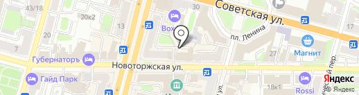 Компьютошка на карте Твери