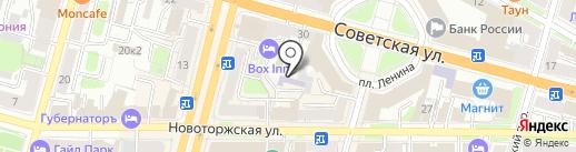 Всесоюзный центр повышения квалификации на карте Твери