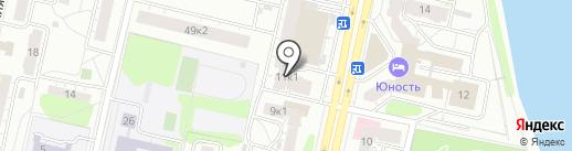 Докота на карте Твери