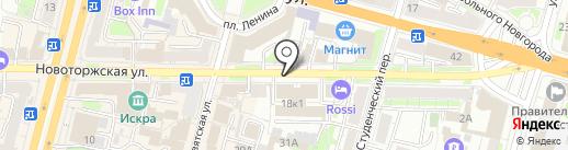 MAMONTS BAR 2.0 на карте Твери