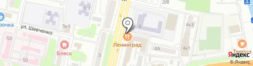 LENINGRAD на карте Твери