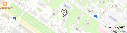 ЖСК-18, ТСЖ на карте Твери