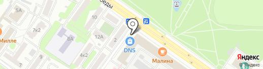 DNS на карте Твери