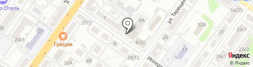 Авоська на карте Твери