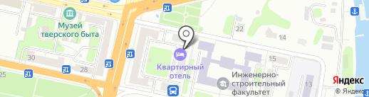 Гуру на карте Твери