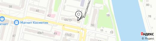 ГУК Заволжского района города Твери на карте Твери