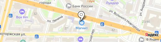 МуравейНик на карте Твери