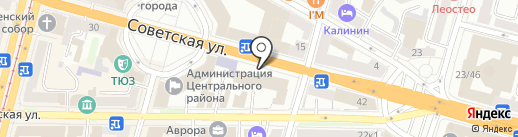 АURA на карте Твери