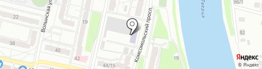 Межрегиональный институт экспертизы на карте Твери