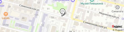 Shishka бар & пар на карте Твери