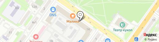 АВеню на карте Твери