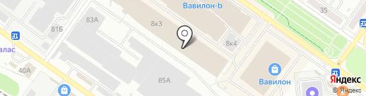 Домовёнок на карте Твери