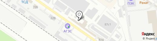 Оптовый склад на карте Твери